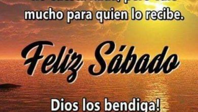 Photo of Feliz Sabado Gif Para Whatsapp