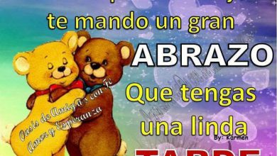 Photo of Frases De Feliz Tarde Para Una Amiga Para Whatsapp Celular