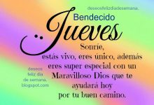 Photo of Frases De Feliz Dia Jueves Para Facebook