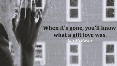 When It S Gone You Ll Know What A Gift Love Was Cuando Se Haya Ido Veras Que El Amor Fue Un Regalo frases bonitas 390x220 - When It S Gone You Ll Know What A Gift Love Was Cuando Se Haya Ido Veras Que El Amor Fue Un Regalo frases bonitas