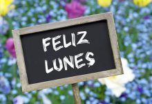 Photo of Buenos días feliz lunes