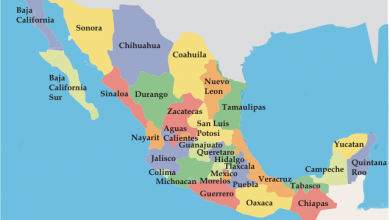 Photo of Imágenes del mapa de la república mexicana