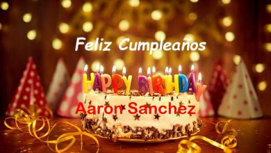 Photo of Feliz Cumpleaños Aaron Sanchez