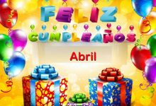 Photo of Feliz Cumpleaños Abril
