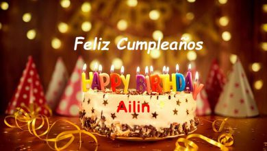 Photo of Feliz Cumpleaños Ailin