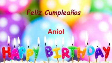 Photo of Feliz Cumpleaños Aniol