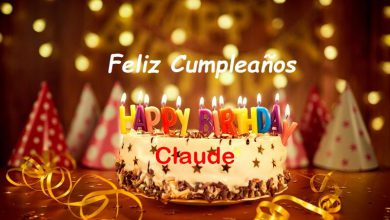 Photo of Feliz Cumpleaños Claude