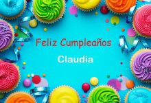 Photo of Feliz Cumpleaños Claudia