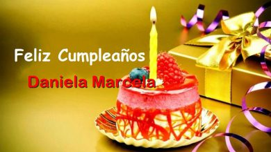 Photo of Feliz Cumpleaños Daniela Marcela