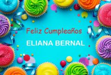 Photo of Feliz Cumpleaños ELIANA BERNAL
