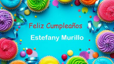 Photo of Feliz Cumpleaños Estefany Murillo