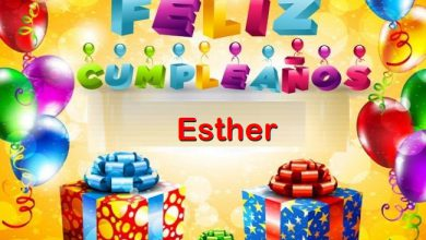 Photo of Feliz Cumpleaños Esther