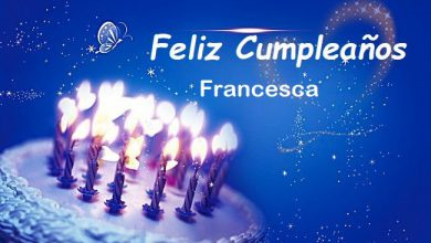 Photo of Feliz Cumpleaños Francesca