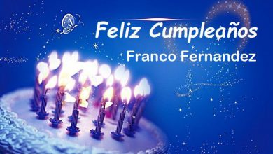 Photo of Feliz Cumpleaños Franco Fernandez