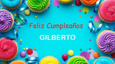 Photo of Feliz Cumpleaños GILBERTO