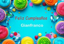 Photo of Feliz Cumpleaños Gianfranco