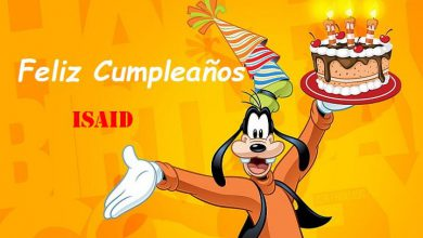 Photo of Feliz Cumpleaños Isaid
