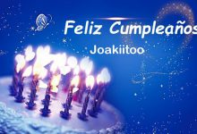 Photo of Feliz Cumpleaños Joakiitoo