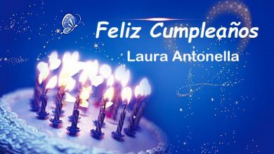 Photo of Feliz Cumpleaños Laura Antonella