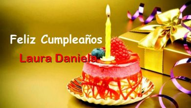 Photo of Feliz Cumpleaños Laura Daniela Bermud