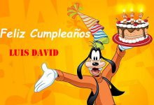 Photo of Feliz Cumpleaños Luis David