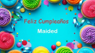 Photo of Feliz Cumpleaños Maided