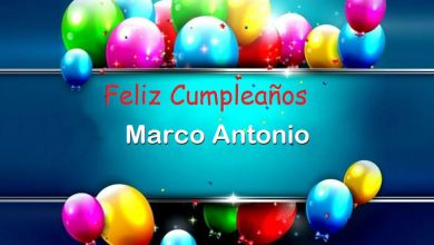 Photo of Feliz Cumpleaños Marco Antonio