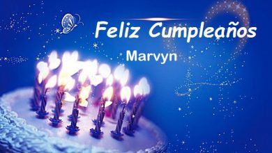Photo of Feliz Cumpleaños Marvyn