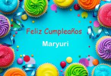 Photo of Feliz Cumpleaños Maryuri