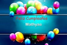 Photo of Feliz Cumpleaños Mathyas