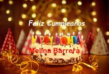 Photo of Feliz Cumpleaños Melina Barrera