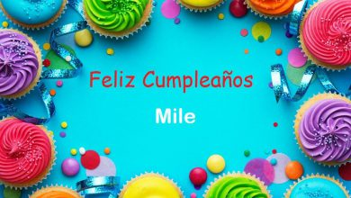 Photo of Feliz Cumpleaños Mile