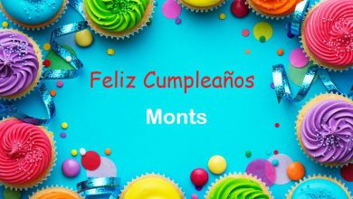 Photo of Feliz Cumpleaños Monts
