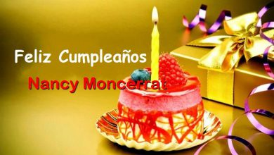 Photo of Feliz Cumpleaños Nancy Moncerrat