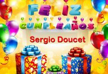 Photo of Feliz Cumpleaños Sergio Doucet