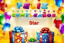 Photo of Feliz Cumpleaños Star