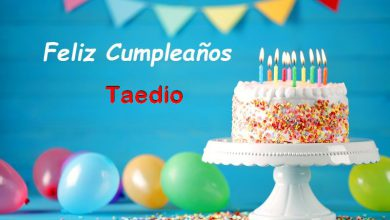 Photo of Feliz Cumpleaños Taedio