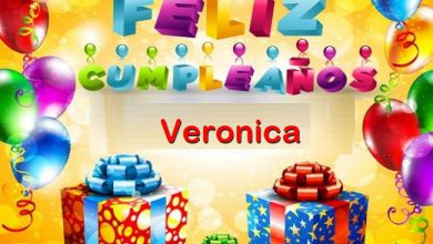 Photo of Feliz Cumpleaños Veronica