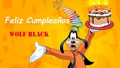 Photo of Feliz Cumpleaños Wolf Black