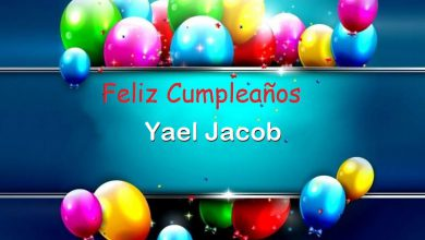 Photo of Feliz Cumpleaños Yael Jacob
