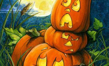 Photo of dibujos de calabazas de halloween a color para celular